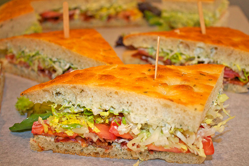 BLT Sandwiches for Catering
