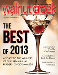 Walnut Creek Magazine Best Lunch 2013